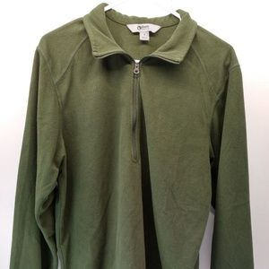 Guide Series Green Fleece Pullover Size Small
